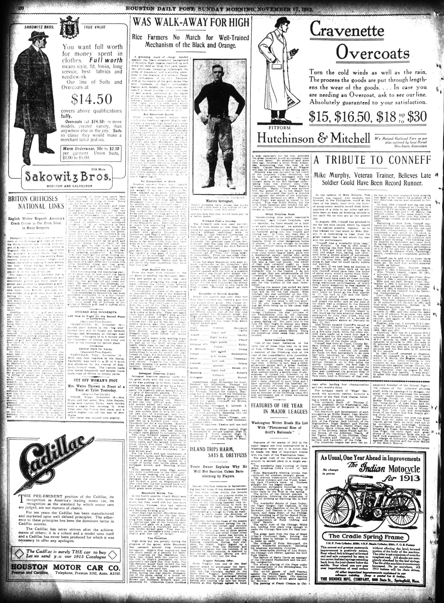 The Houston Post. (Houston, Tex.), Vol. 27, Ed. 1 Sunday, November 17, 1912                                                                                                      [Sequence #]: 20 of 62