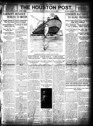 Primary view of object titled 'The Houston Post. (Houston, Tex.), Vol. 27, Ed. 1 Tuesday, May 14, 1912'.