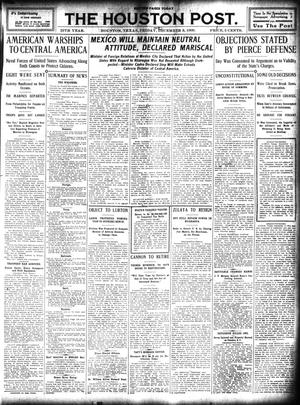 Primary view of object titled 'The Houston Post. (Houston, Tex.), Vol. 25, Ed. 1 Friday, December 3, 1909'.