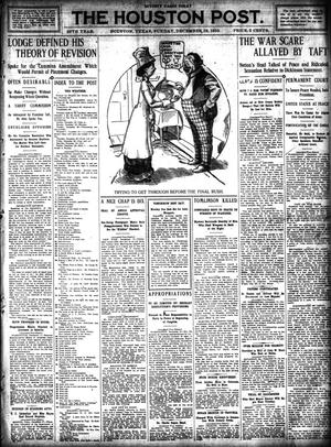 Primary view of object titled 'The Houston Post. (Houston, Tex.), Vol. 26, Ed. 1 Sunday, December 18, 1910'.