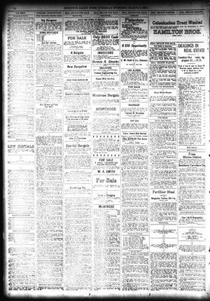 The Houston Post  (Houston, Tex ), Vol  28, Ed  1 Tuesday, March 3