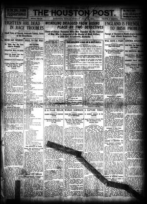 Primary view of object titled 'The Houston Post. (Houston, Tex.), Vol. 26, Ed. 1 Sunday, July 31, 1910'.
