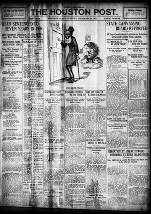 Primary view of object titled 'The Houston Post. (Houston, Tex.), Vol. 27, Ed. 1 Tuesday, December 31, 1912'.