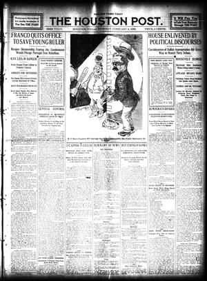 Primary view of object titled 'The Houston Post. (Houston, Tex.), Vol. 23, Ed. 1 Tuesday, February 4, 1908'.