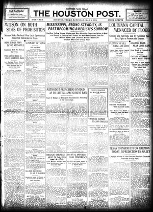 Primary view of object titled 'The Houston Post. (Houston, Tex.), Vol. 27, Ed. 1 Saturday, May 4, 1912'.