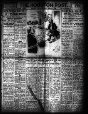 Primary view of object titled 'The Houston Post. (Houston, Tex.), Vol. 24, Ed. 1 Tuesday, March 9, 1909'.