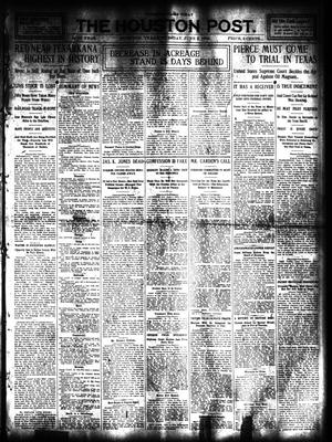 Primary view of object titled 'The Houston Post. (Houston, Tex.), Vol. 24, Ed. 1 Tuesday, June 2, 1908'.
