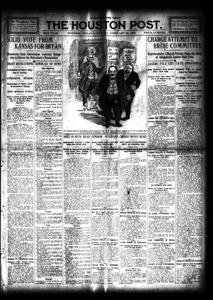 Primary view of object titled 'The Houston Post. (Houston, Tex.), Vol. 23, Ed. 1 Saturday, February 22, 1908'.