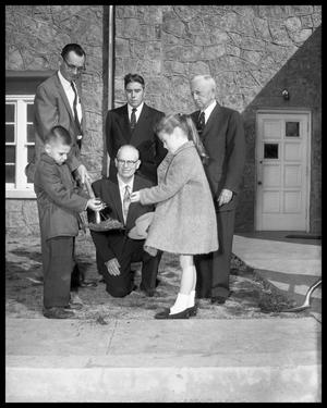 Primary view of object titled 'Groundbreaking for Evangelical Methodist #1'.