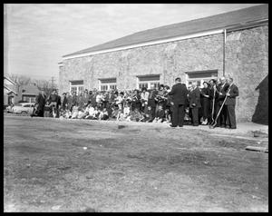 Primary view of object titled 'Groundbreaking for Evangelical Methodist #2'.