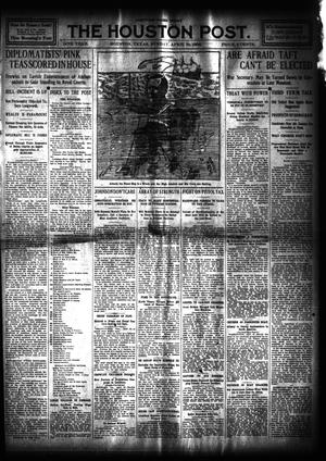 Primary view of object titled 'The Houston Post. (Houston, Tex.), Vol. 24, Ed. 1 Sunday, April 19, 1908'.