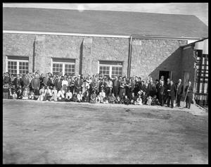 Primary view of object titled 'Groundbreaking for Evangelical Methodist Church #3'.