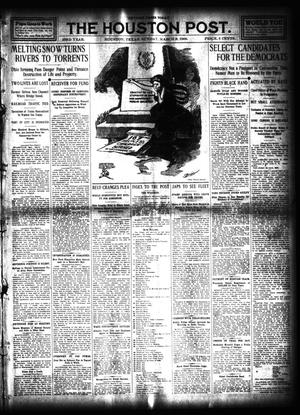 Primary view of object titled 'The Houston Post. (Houston, Tex.), Vol. 23, Ed. 1 Sunday, March 8, 1908'.
