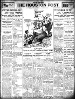Primary view of object titled 'The Houston Post. (Houston, Tex.), Vol. 25, Ed. 1 Sunday, August 1, 1909'.