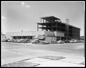 Primary view of object titled 'First State Bank Under Construction #1'.