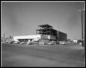 Primary view of object titled 'First State Bank Under Construction #2'.