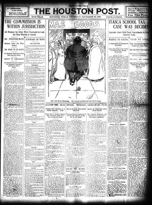 Primary view of object titled 'The Houston Post. (Houston, Tex.), Vol. 25, Ed. 1 Thursday, December 16, 1909'.