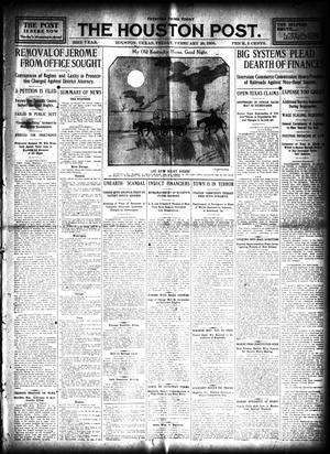 Primary view of object titled 'The Houston Post. (Houston, Tex.), Vol. 23, Ed. 1 Friday, February 28, 1908'.