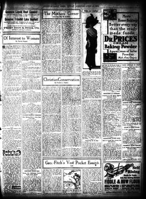 Primary view of object titled 'The Houston Post. (Houston, Tex.), Vol. 27, Ed. 1 Friday, April 19, 1912'.