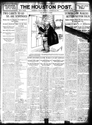 Primary view of object titled 'The Houston Post. (Houston, Tex.), Vol. 24, Ed. 1 Sunday, August 23, 1908'.