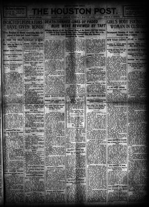 Primary view of object titled 'The Houston Post. (Houston, Tex.), Vol. 26, Ed. 1 Tuesday, May 31, 1910'.