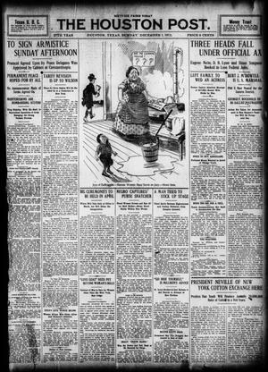 Primary view of object titled 'The Houston Post. (Houston, Tex.), Vol. 27, Ed. 1 Sunday, December 1, 1912'.
