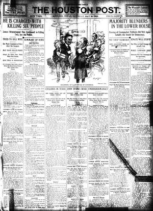 Primary view of object titled 'The Houston Post. (Houston, Tex.), Vol. 24, Ed. 1 Saturday, May 23, 1908'.