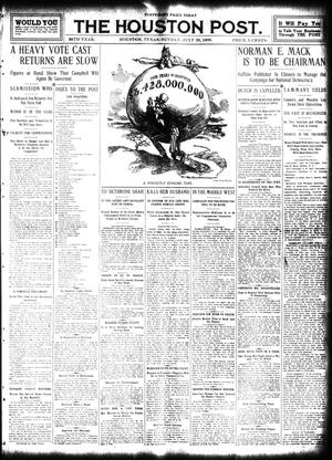 Primary view of object titled 'The Houston Post. (Houston, Tex.), Vol. 24, Ed. 1 Sunday, July 26, 1908'.