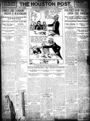 Primary view of object titled 'The Houston Post. (Houston, Tex.), Vol. 26, Ed. 1 Sunday, July 17, 1910'.