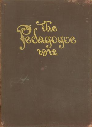 Primary view of object titled 'The Pedagogue, Yearbook of Southwestern Texas State Normal School, 1912'.