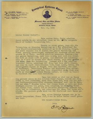 irs letter letter from c m beyer to r osthoff november 11 1931 22603