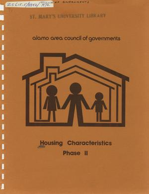 Primary view of object titled 'Housing Characteristics Study: Phase 2'.