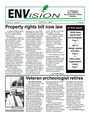 ENVision, Volume 1, Issue 2, Fall/Winter 1995, ENVision