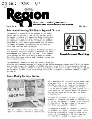 Primary view of object titled 'Region, Volume 6, Number 3, May 1979'.