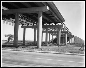 Primary view of object titled 'Building Highway 80 Overpass over S. First'.