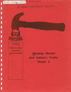 Primary view of object titled 'Housing Market and Industry Profile: Phase 2'.