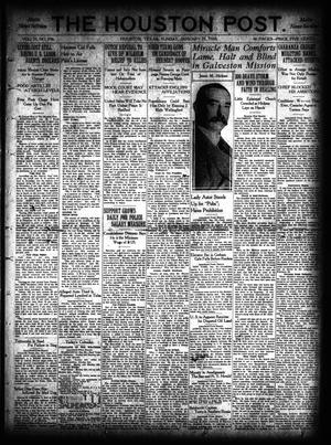 Primary view of object titled 'The Houston Post. (Houston, Tex.), Vol. 35, No. 296, Ed. 1 Sunday, January 25, 1920'.