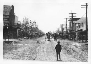 Primary view of object titled '[Main Street in Rosenberg, Texas]'.