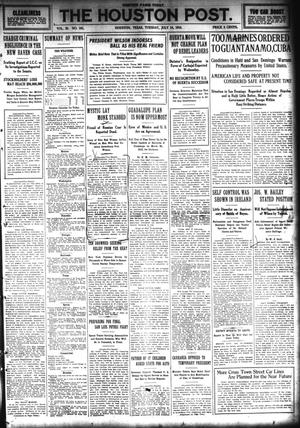 Primary view of The Houston Post. (Houston, Tex.), Vol. 29, No. 101, Ed. 1 Tuesday, July 14, 1914