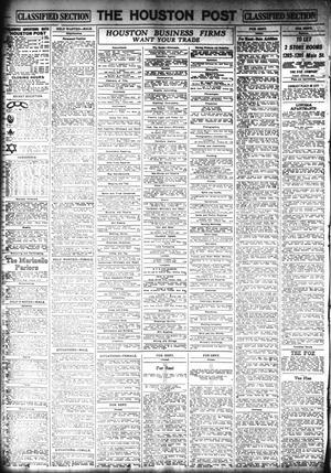 The Houston Post  (Houston, Tex ), Vol  29, No  96, Ed  1