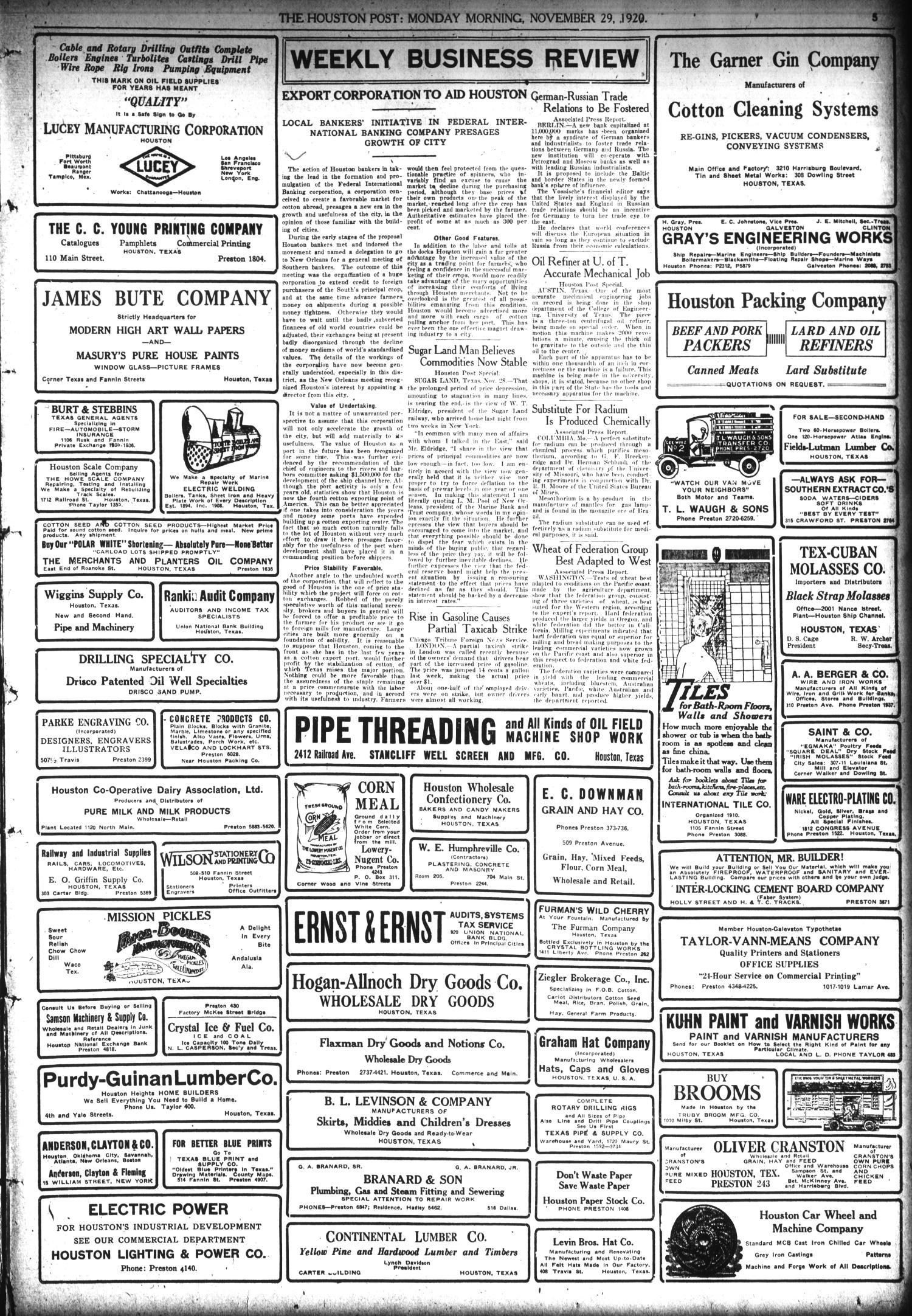 The Houston Post Houston Tex Vol 36 No 240 Ed 1