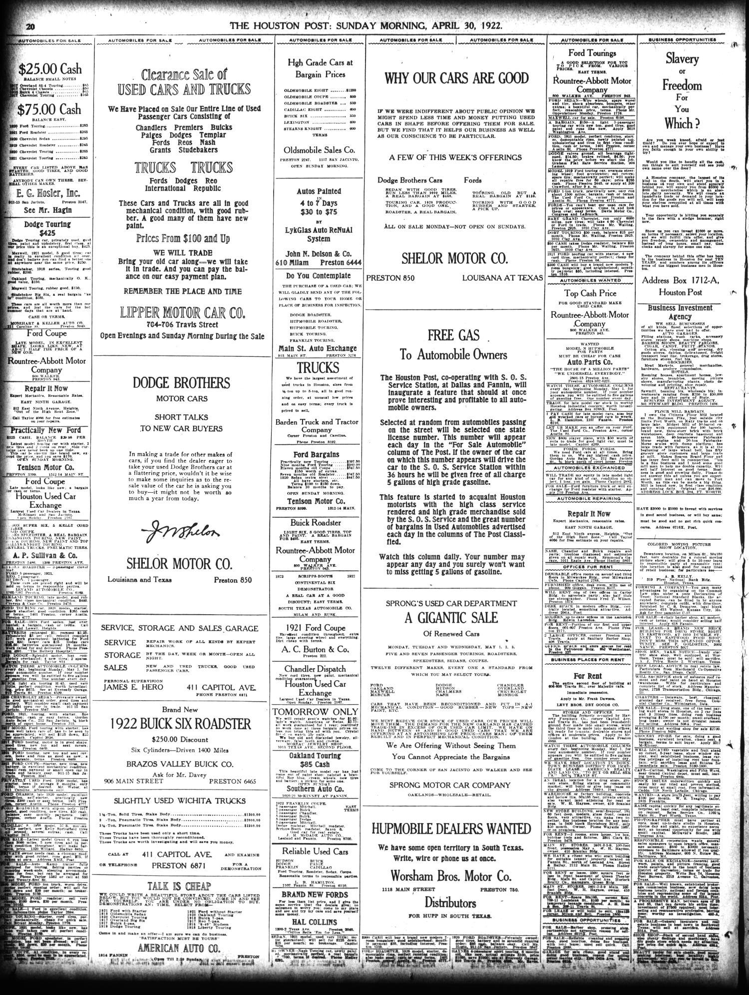 The Houston Post  (Houston, Tex ), Vol  38, No  26, Ed  1