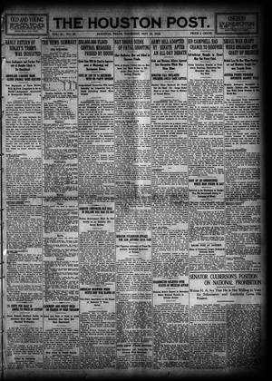 Primary view of The Houston Post. (Houston, Tex.), Vol. 31, No. 44, Ed. 1 Thursday, May 18, 1916