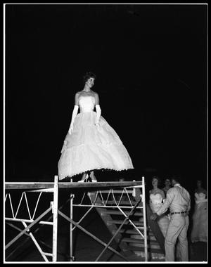 Primary view of object titled 'Miss Abilene Contest at the Sands Hotel'.
