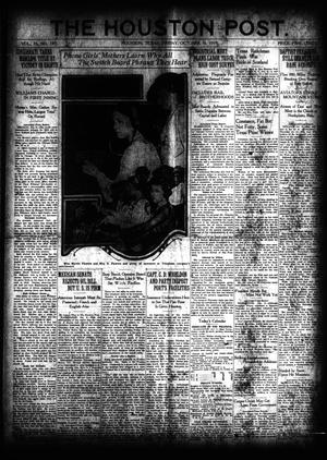 Primary view of object titled 'The Houston Post. (Houston, Tex.), Vol. 35, No. 189, Ed. 1 Friday, October 10, 1919'.