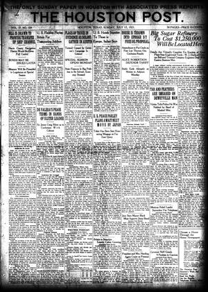 Primary view of object titled 'The Houston Post. (Houston, Tex.), Vol. 37, No. 104, Ed. 1 Sunday, July 17, 1921'.