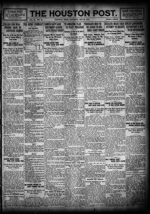 Primary view of object titled 'The Houston Post. (Houston, Tex.), Vol. 31, No. 46, Ed. 1 Saturday, May 20, 1916'.