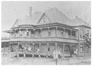 Primary view of object titled '[The Foster Hotel]'.