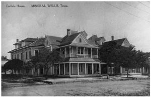 The Carlisle House, Mineral Wells Texas