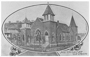 Primary view of object titled 'The Methodist-Episcopal Church'.